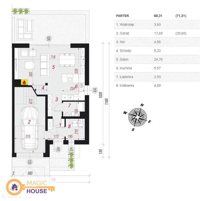 Dom na sprzedaż Bojano, Rzemieślnicza  125m2 Foto 3