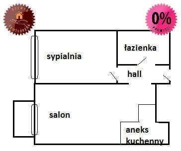Mieszkanie dwupokojowe na sprzedaż Warszawa, Ochota, Instalatorów  37m2 Foto 1