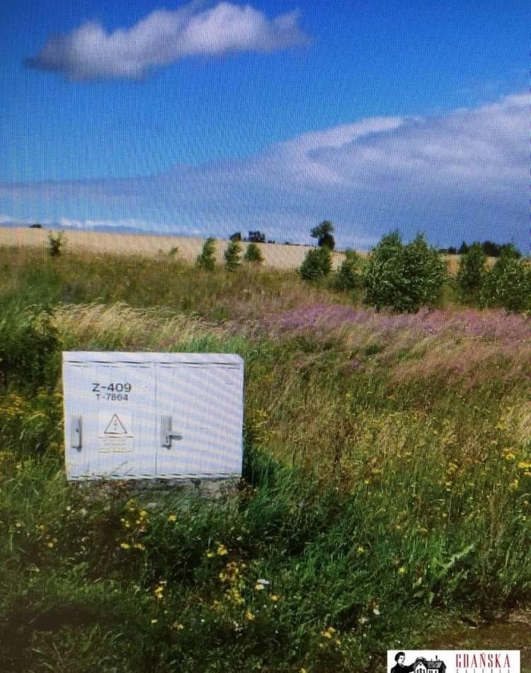 Działka budowlana na sprzedaż Banino, wiśniowa  1516m2 Foto 3