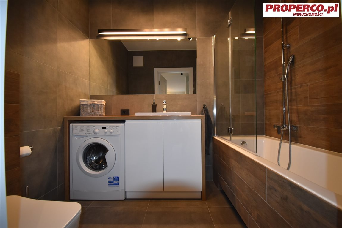 Mieszkanie dwupokojowe na wynajem Kielce, Centrum, Ściegiennego  48m2 Foto 6
