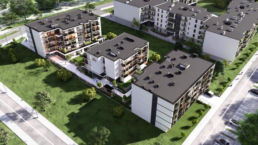 Mieszkanie dwupokojowe na sprzedaż Kielce, Uroczysko, Klonowa  37m2 Foto 2