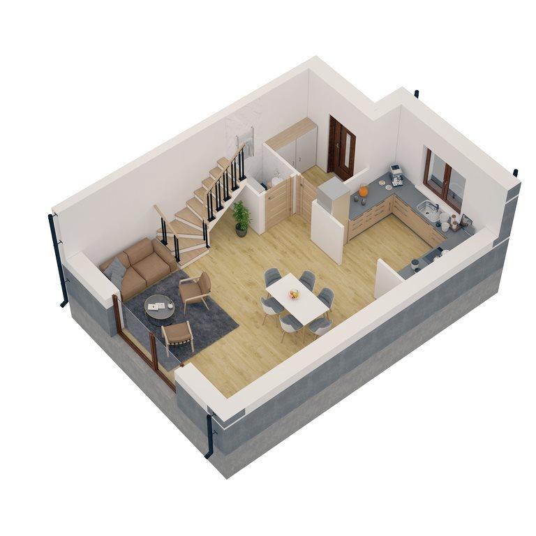 Dom na sprzedaż Dąbrówka  80m2 Foto 10