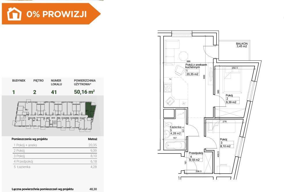 Mieszkanie trzypokojowe na sprzedaż Bydgoszcz, Szwederowo  50m2 Foto 2