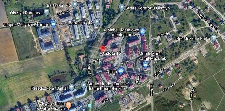 Mieszkanie dwupokojowe na wynajem Olsztyn, Złota  37m2 Foto 13