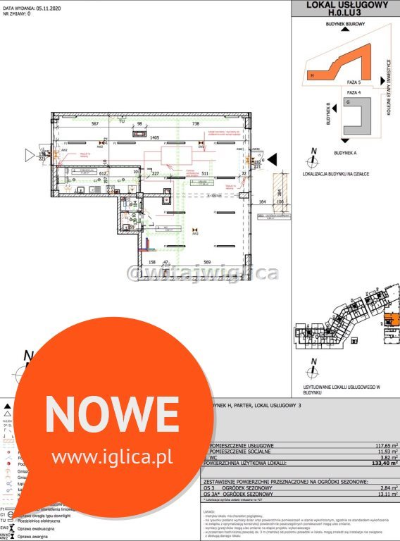 Lokal użytkowy na wynajem Wrocław, Fabryczna, Popowice, Białowieska  133m2 Foto 6