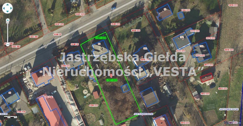 Działka inna na sprzedaż Jastrzębie-Zdrój, Jastrzębie Górne  1325m2 Foto 1