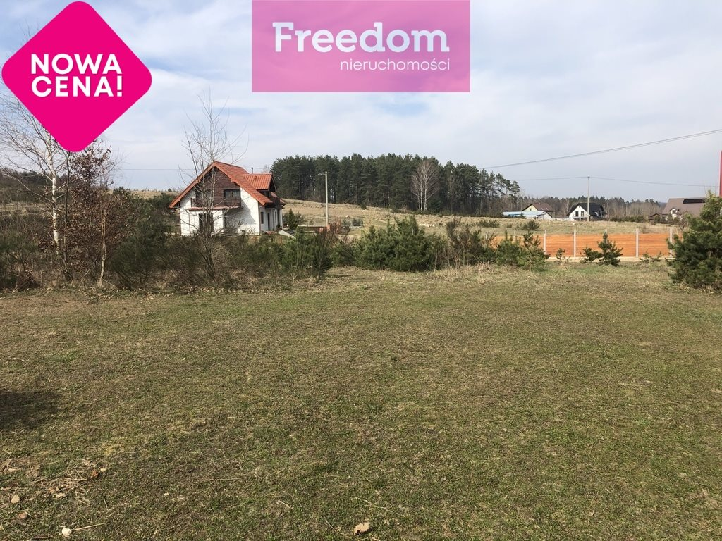Działka budowlana na sprzedaż Nowy Dwór Wejherowski, Okrężna  1387m2 Foto 1