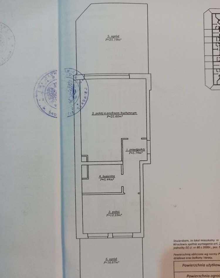 Mieszkanie dwupokojowe na sprzedaż Wrocław, Fabryczna, Muchobór Wielki, Kunickiego 55b  49m2 Foto 15