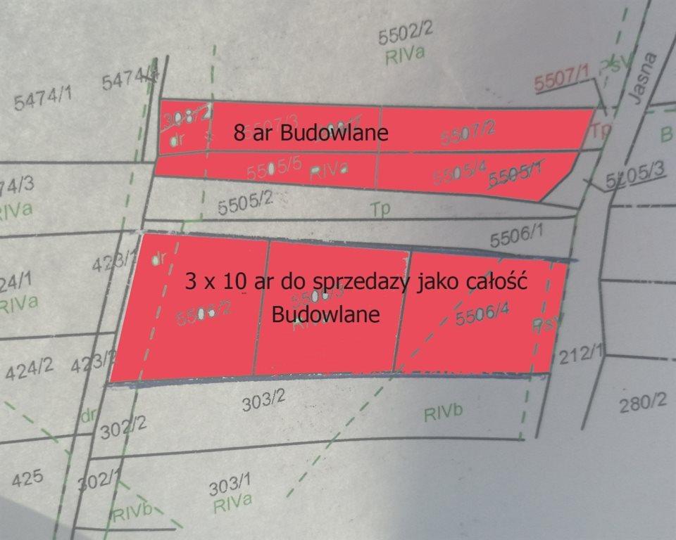 Działka budowlana na sprzedaż Bystra  3000m2 Foto 3