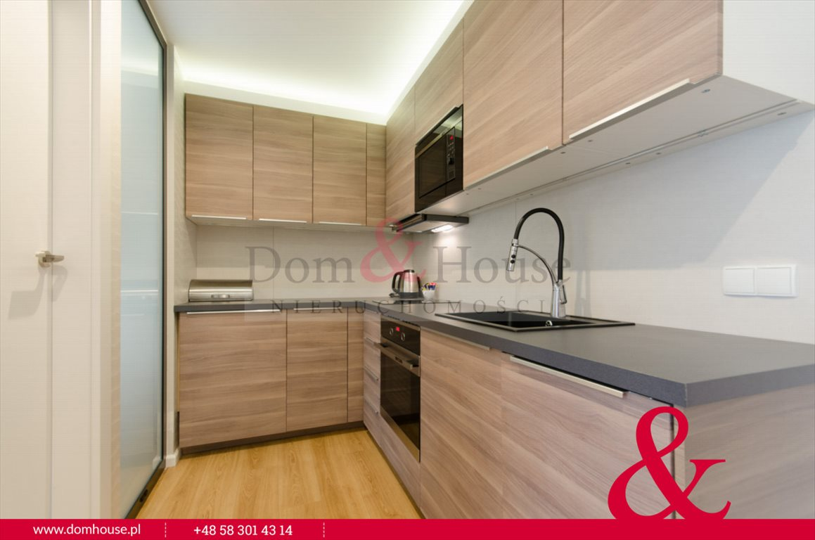 Mieszkanie dwupokojowe na wynajem Gdańsk, Śródmieście, Szafarnia  45m2 Foto 7