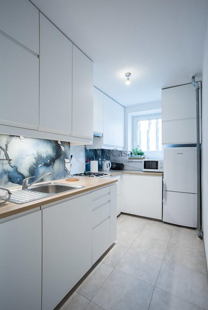 Mieszkanie trzypokojowe na wynajem Warszawa, Wola, Mirów, Twarda  54m2 Foto 2
