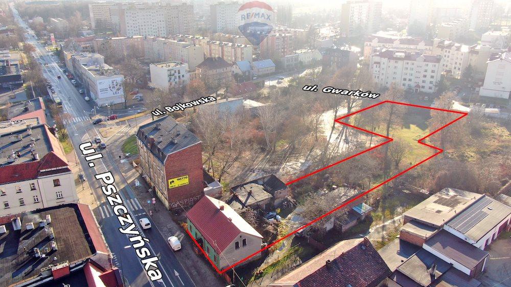 Działka inwestycyjna na sprzedaż Gliwice, Centrum, Pszczyńska  3382m2 Foto 1
