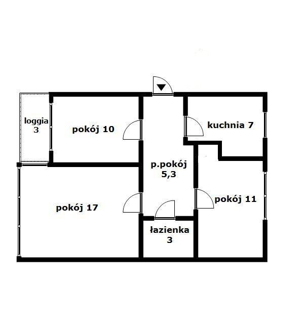 Mieszkanie trzypokojowe na sprzedaż Warszawa, Mokotów, Sadyba, Jaszowiecka  52m2 Foto 12