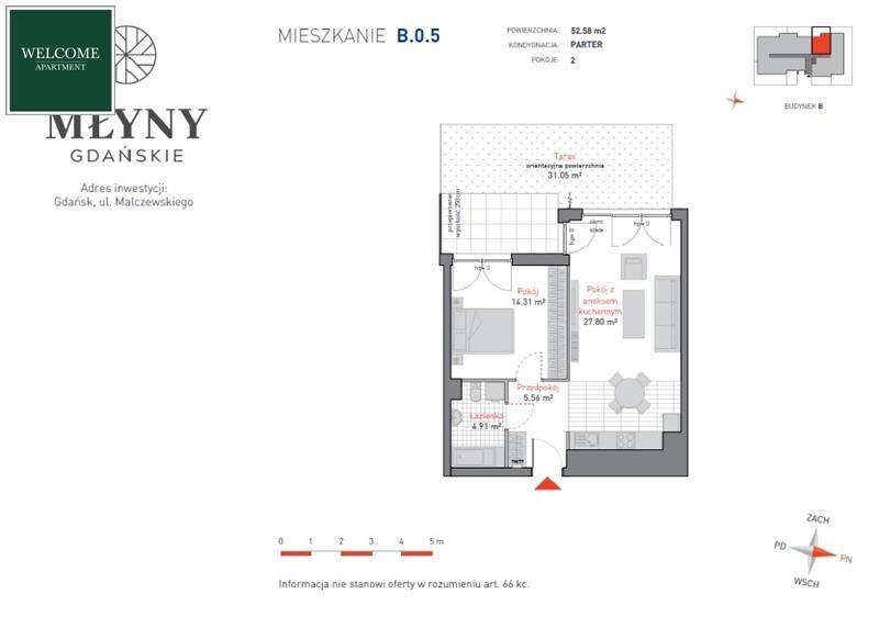 Mieszkanie trzypokojowe na sprzedaż Gdańsk, Siedlce, Siedlce, Malczewskiego  53m2 Foto 10
