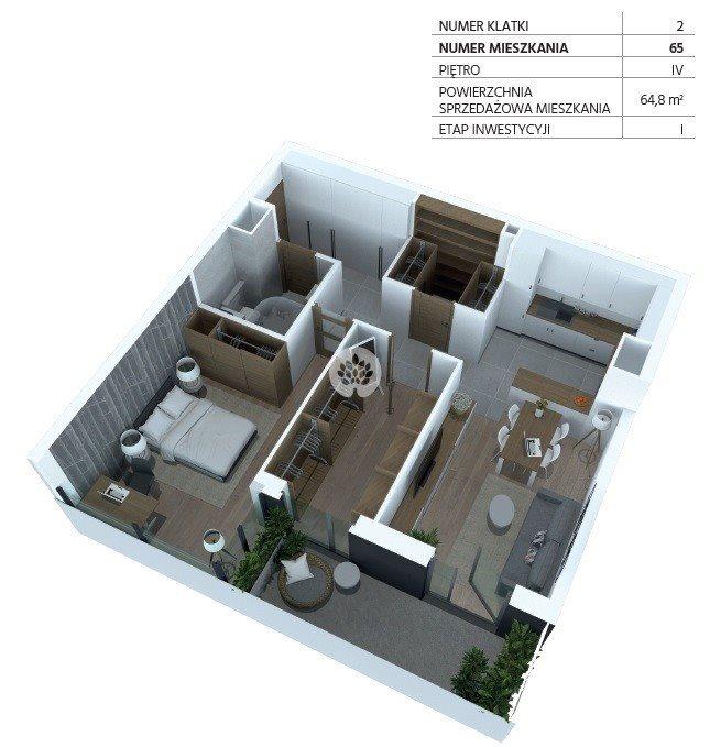 Mieszkanie trzypokojowe na sprzedaż Bydgoszcz, Szwederowo, Piękna  65m2 Foto 4