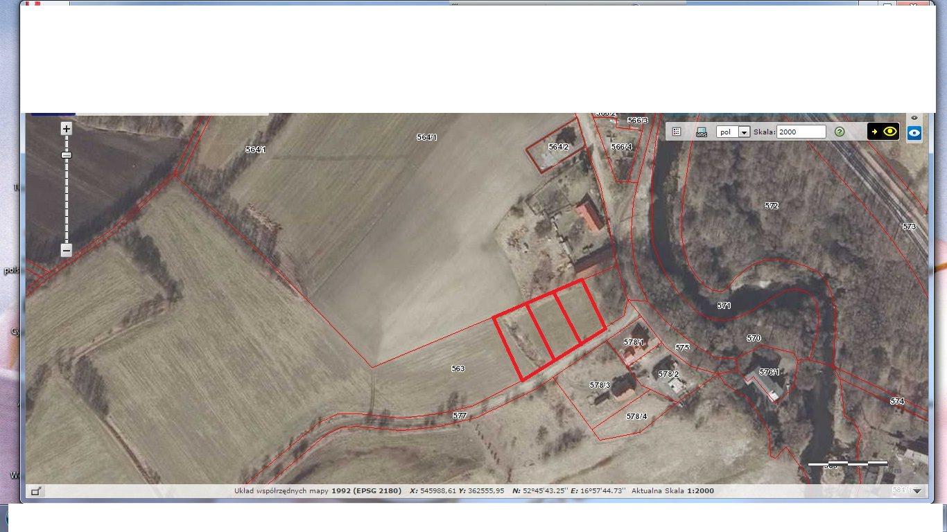 Działka budowlana na sprzedaż Rogoźno, Ruda  1029m2 Foto 6