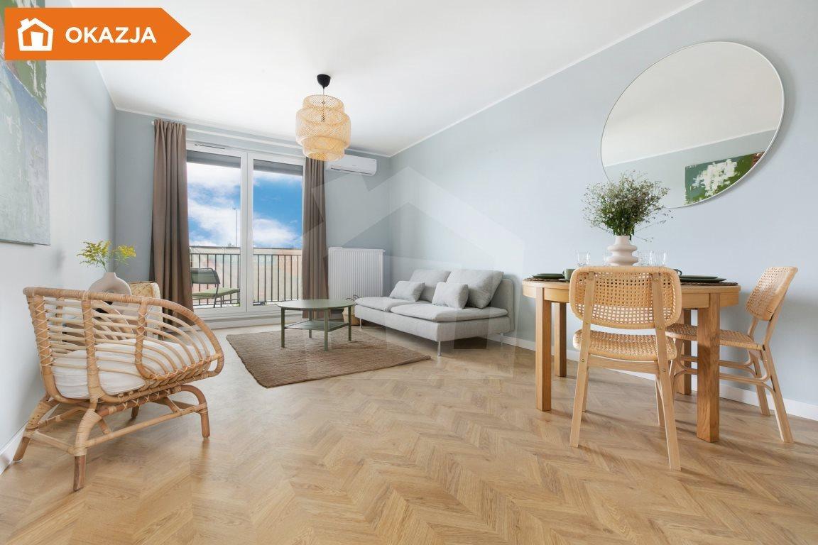 Mieszkanie trzypokojowe na sprzedaż Niemcz  59m2 Foto 6