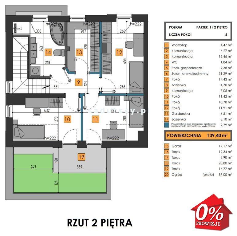 Mieszkanie na sprzedaż Kraków, Dębniki, Kliny, Komuny Paryskiej - okolice  157m2 Foto 4