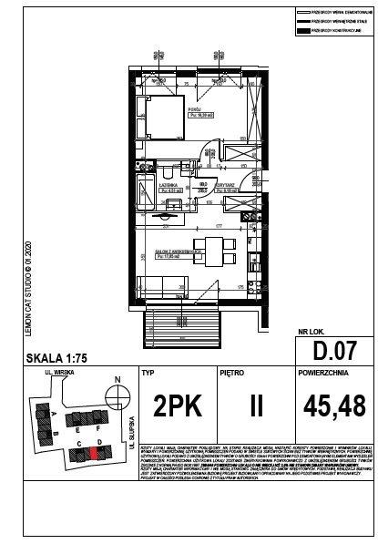 Mieszkanie dwupokojowe na sprzedaż Poznań, Smochowice  45m2 Foto 9