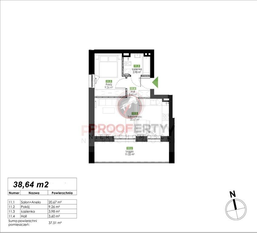 Mieszkanie dwupokojowe na sprzedaż Gdańsk, Jasień, Jabłoniowa  39m2 Foto 3
