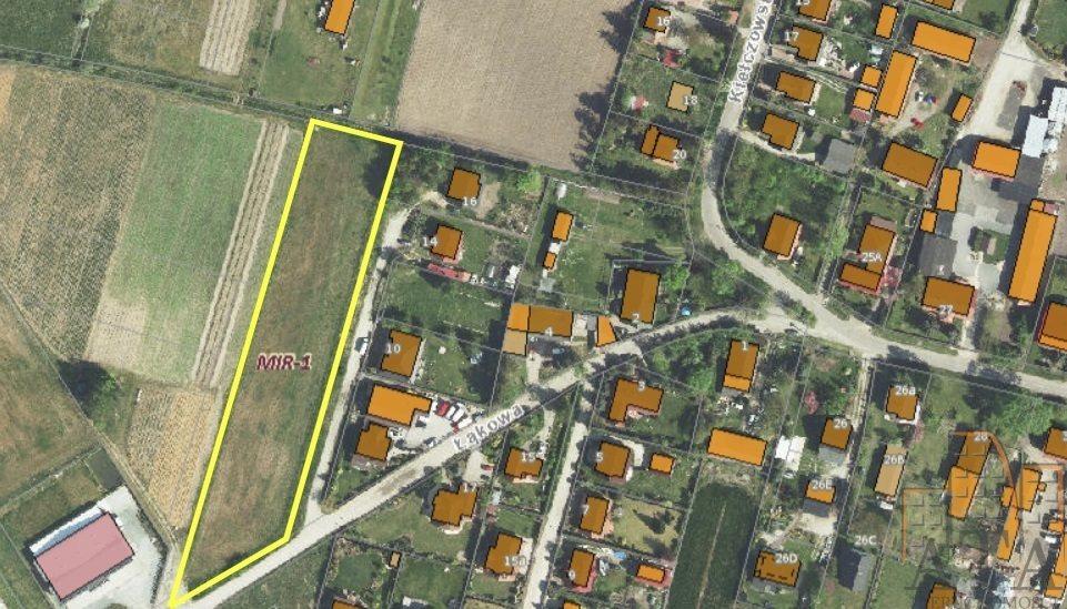 Działka inwestycyjna pod dzierżawę Mirków, Łąkowa  5900m2 Foto 1