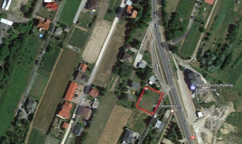Działka inna pod dzierżawę Rzeszów, Podkarpacka  1100m2 Foto 1