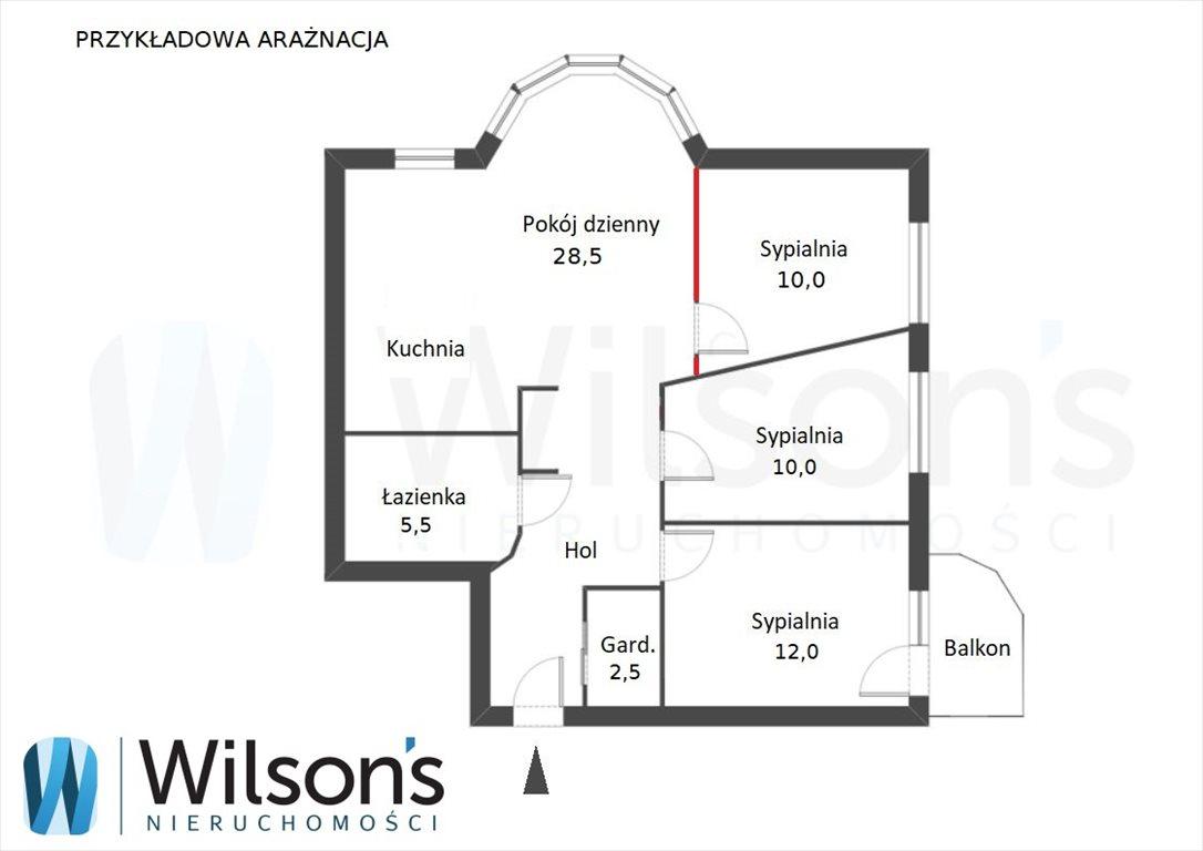 Mieszkanie trzypokojowe na sprzedaż Warszawa, Ursynów, Makolągwy  78m2 Foto 5