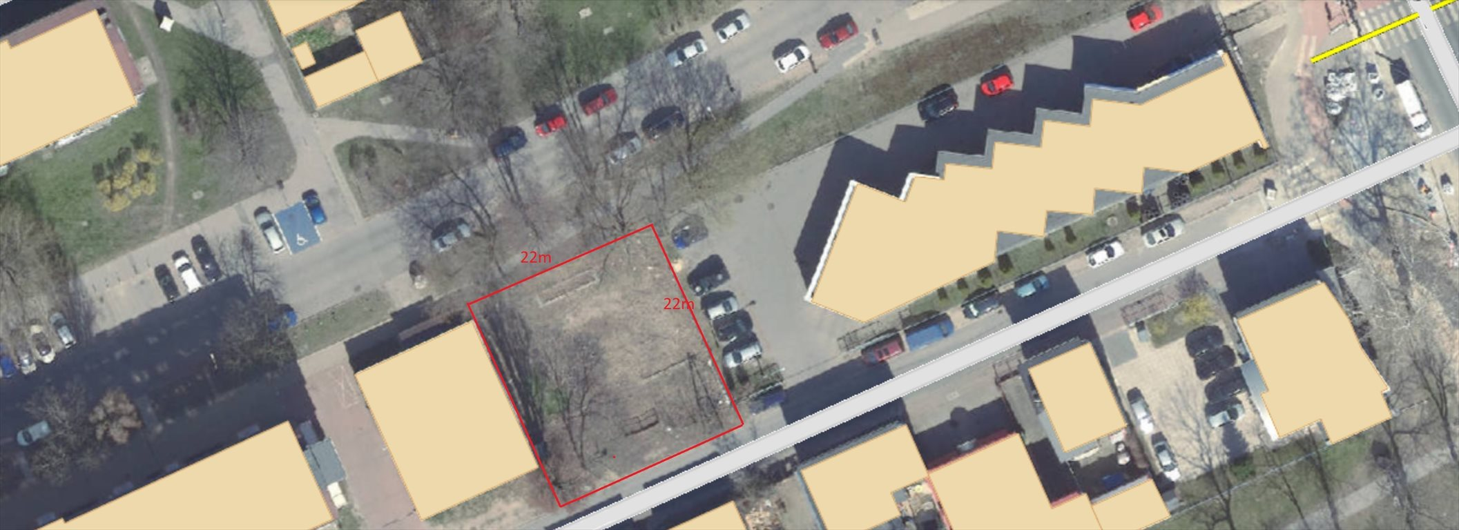 Działka inwestycyjna na sprzedaż Łódź, bałuty  484m2 Foto 1