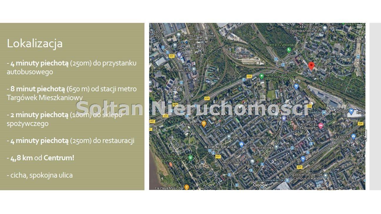 Działka komercyjna na sprzedaż Warszawa, Targówek, Targówek, Oszmiańska  965m2 Foto 3