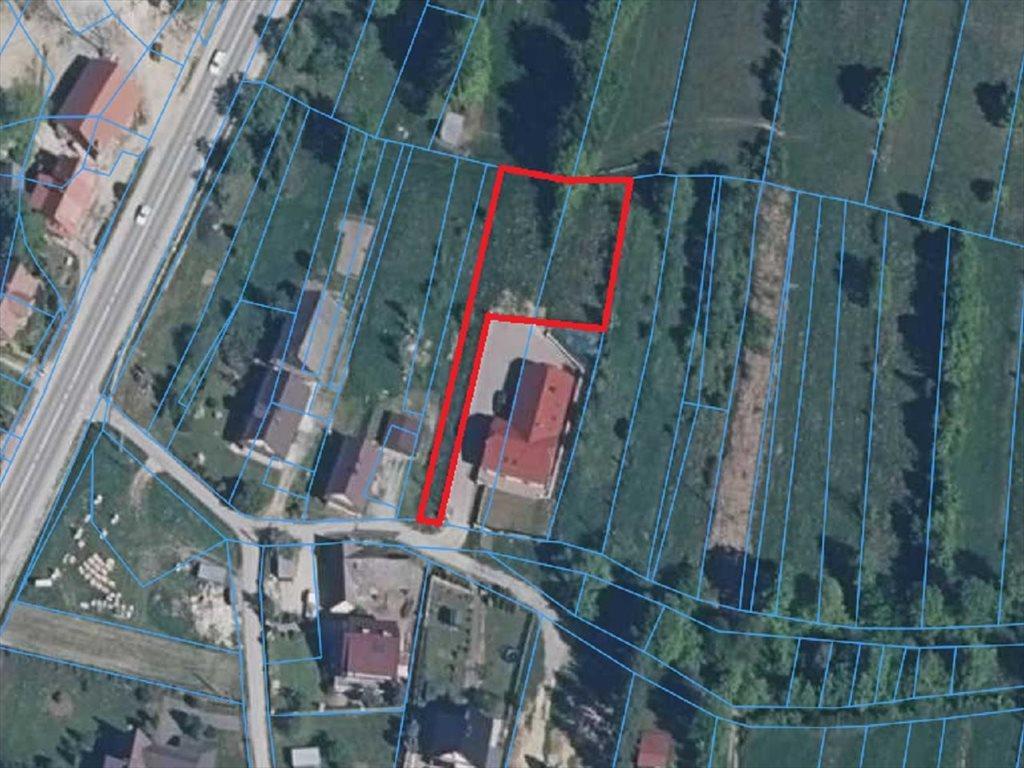 Działka budowlana na sprzedaż Lubień, Lubień  977m2 Foto 1