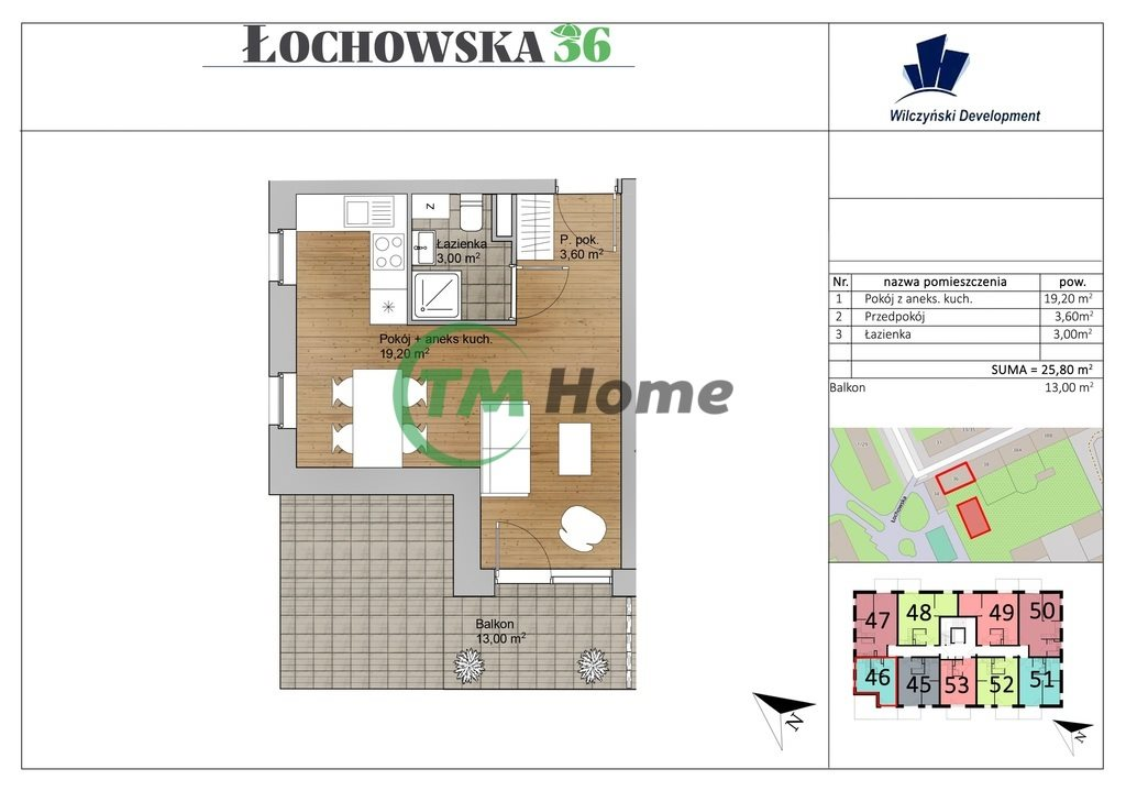 Kawalerka na sprzedaż Warszawa, Praga-Północ, Łochowska  26m2 Foto 3