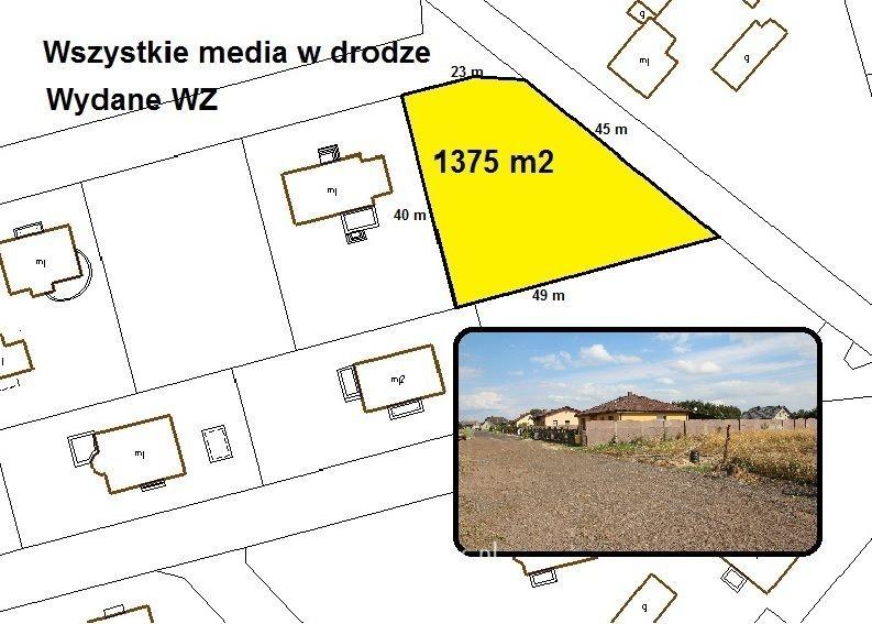 Działka budowlana na sprzedaż Gorzów Wielkopolski, Os. Poznańskie  1375m2 Foto 1