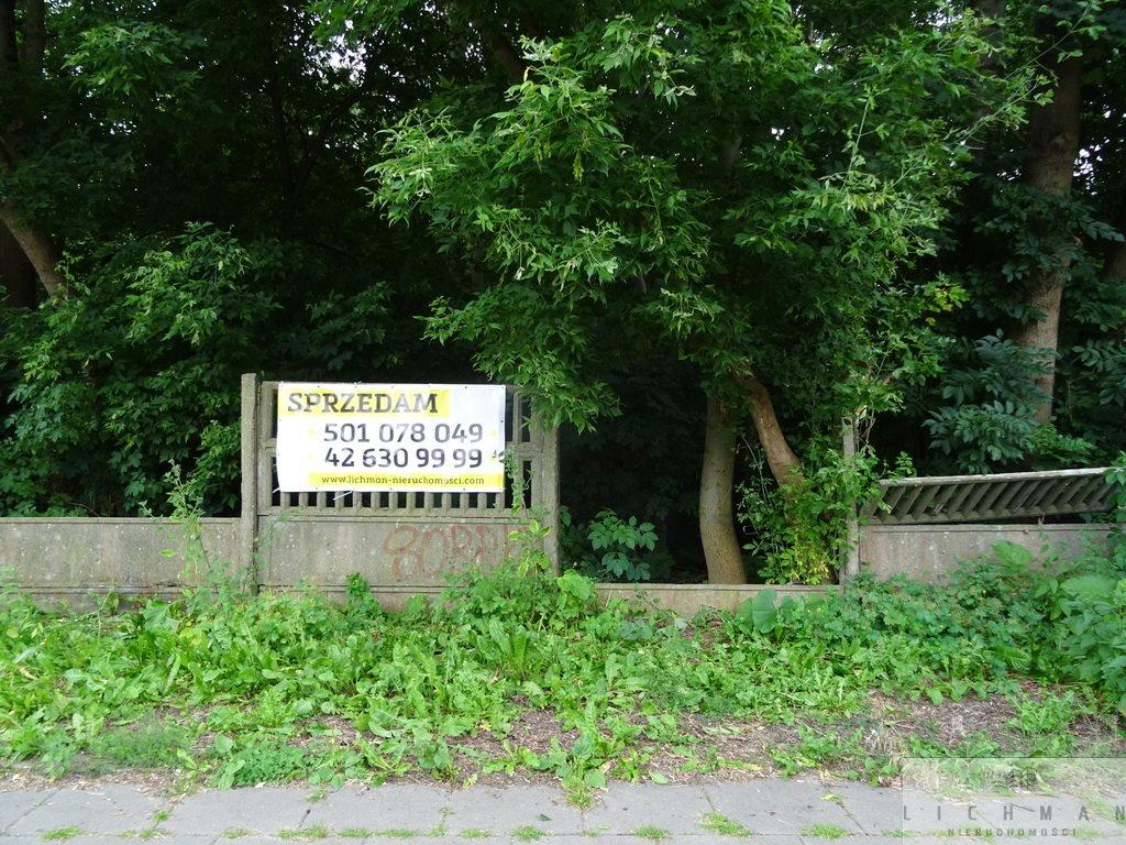 Działka budowlana na sprzedaż Łódź, Os. Radiostacja  2639m2 Foto 2