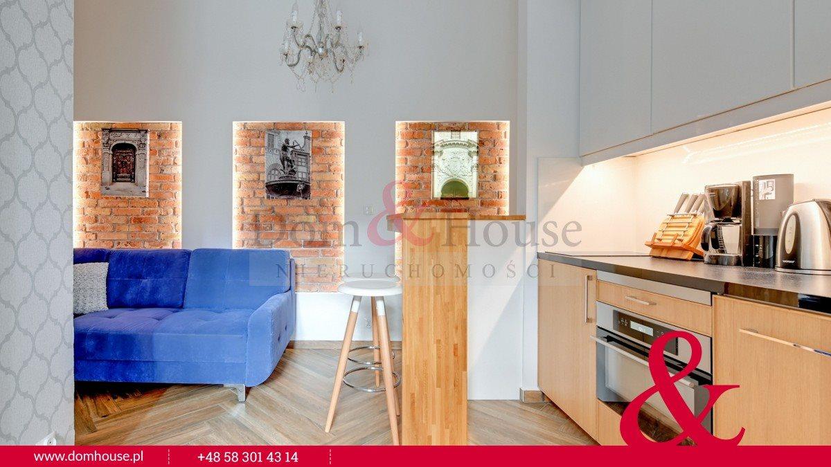 Mieszkanie dwupokojowe na wynajem Gdańsk, Śródmieście, Ogarna  27m2 Foto 1