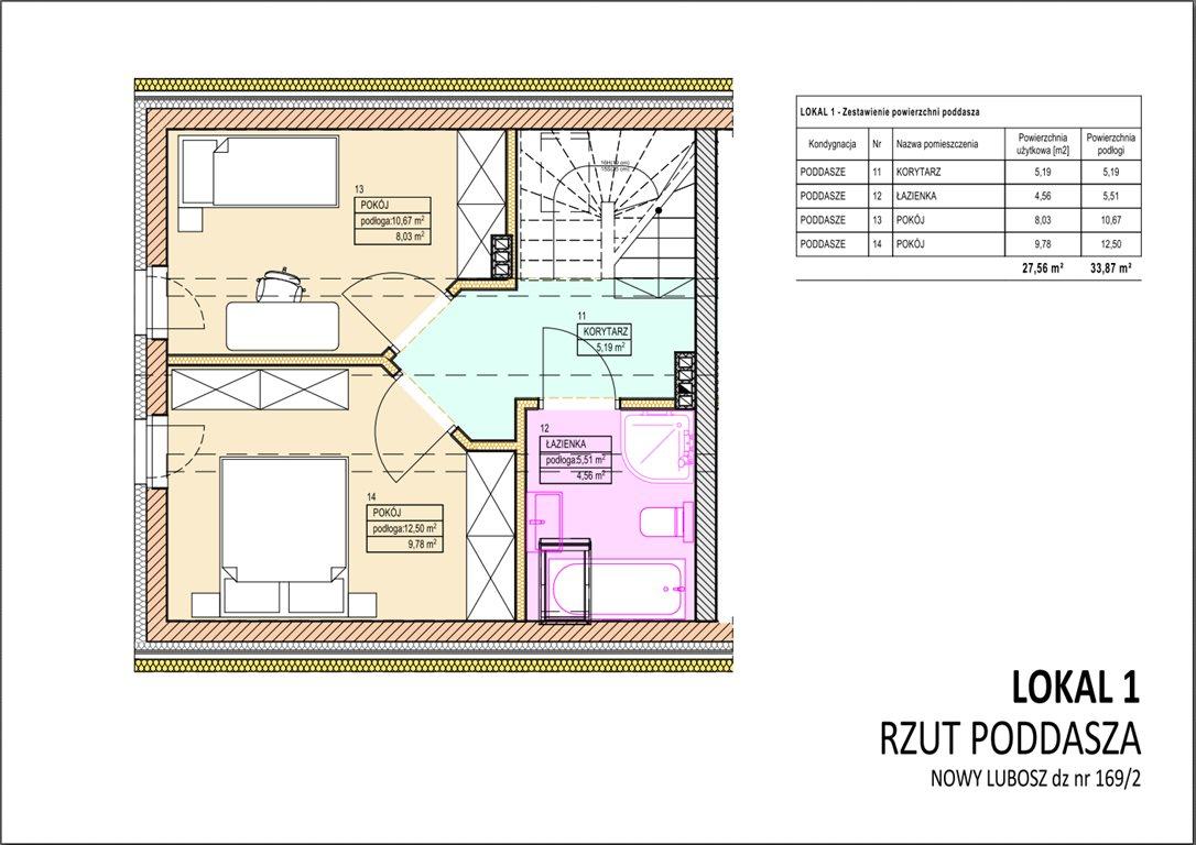Dom na sprzedaż Kościan  65m2 Foto 6