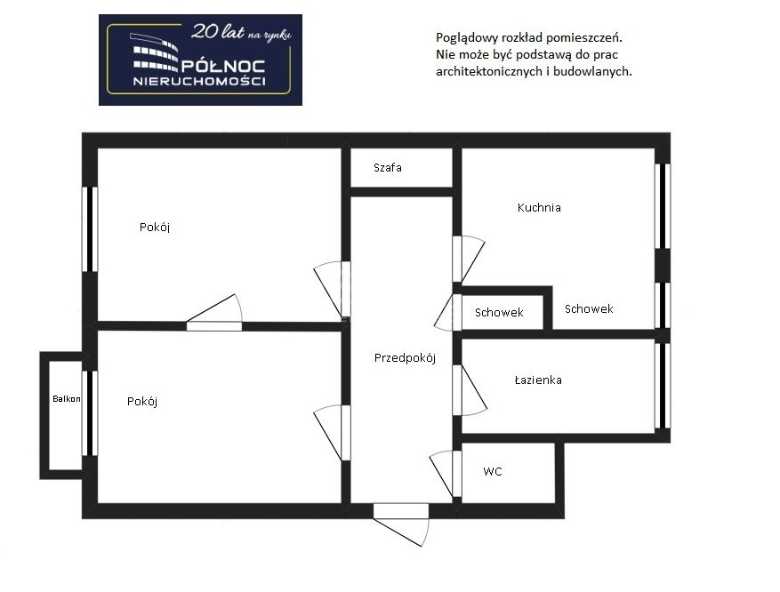 Mieszkanie dwupokojowe na sprzedaż Pabianice, Bezczynszowe 2 pokoje z potencjałem, Centrum  69m2 Foto 6