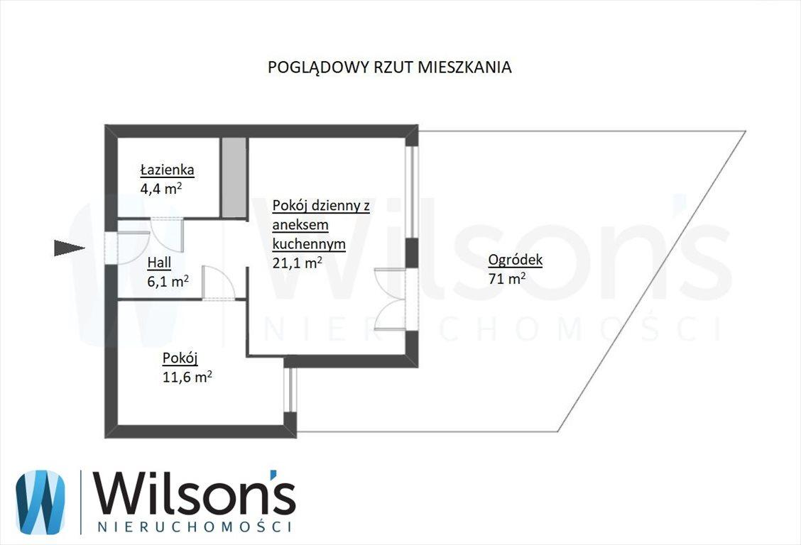 Mieszkanie dwupokojowe na sprzedaż Warszawa, Bielany, Jana Kasprowicza  43m2 Foto 8