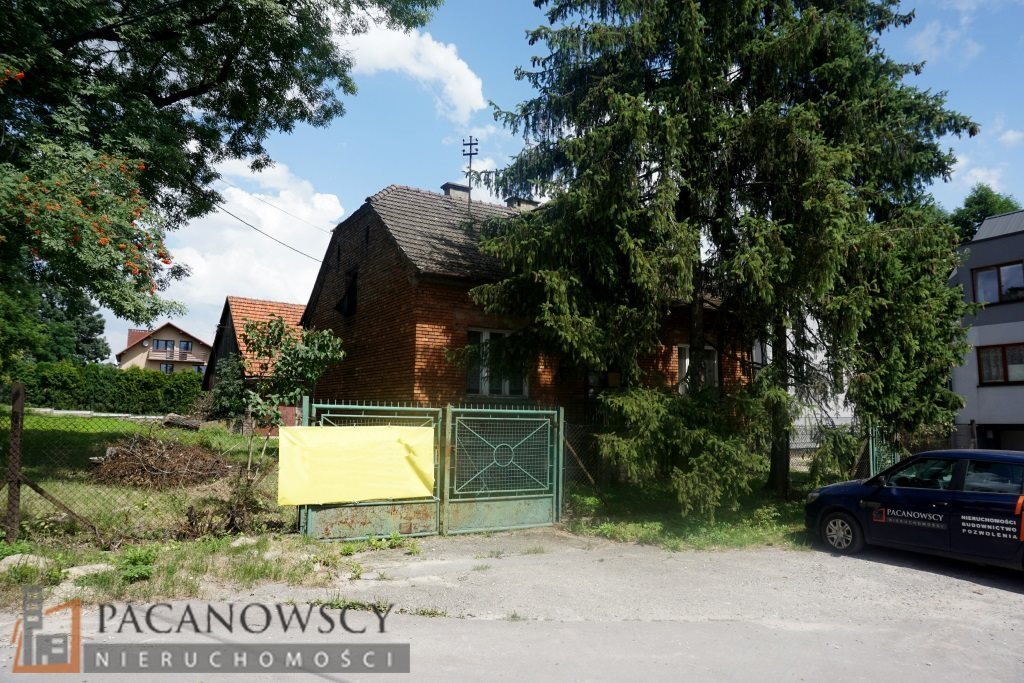 Działka budowlana pod dzierżawę Kraków, Prądnik Biały, Tonie  1200m2 Foto 2