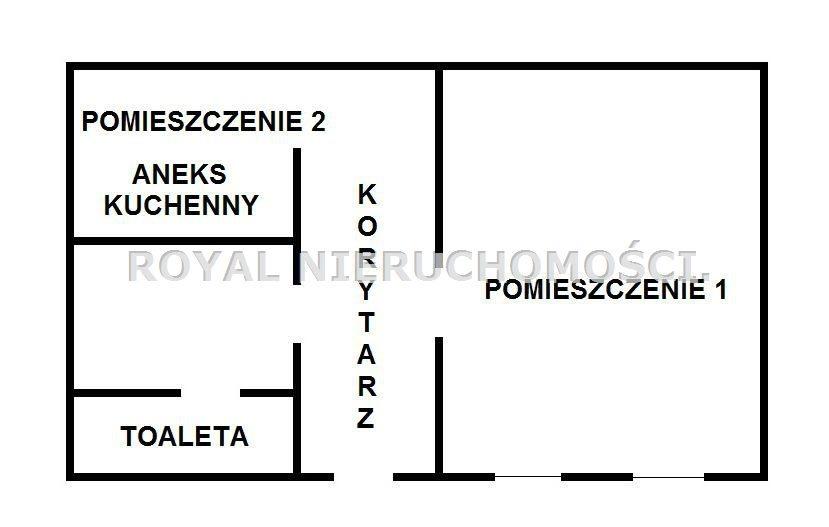 Lokal użytkowy na sprzedaż Gliwice, Śródmieście, OKAZJA CENOWA, NISKI CZYNSZ  35m2 Foto 1