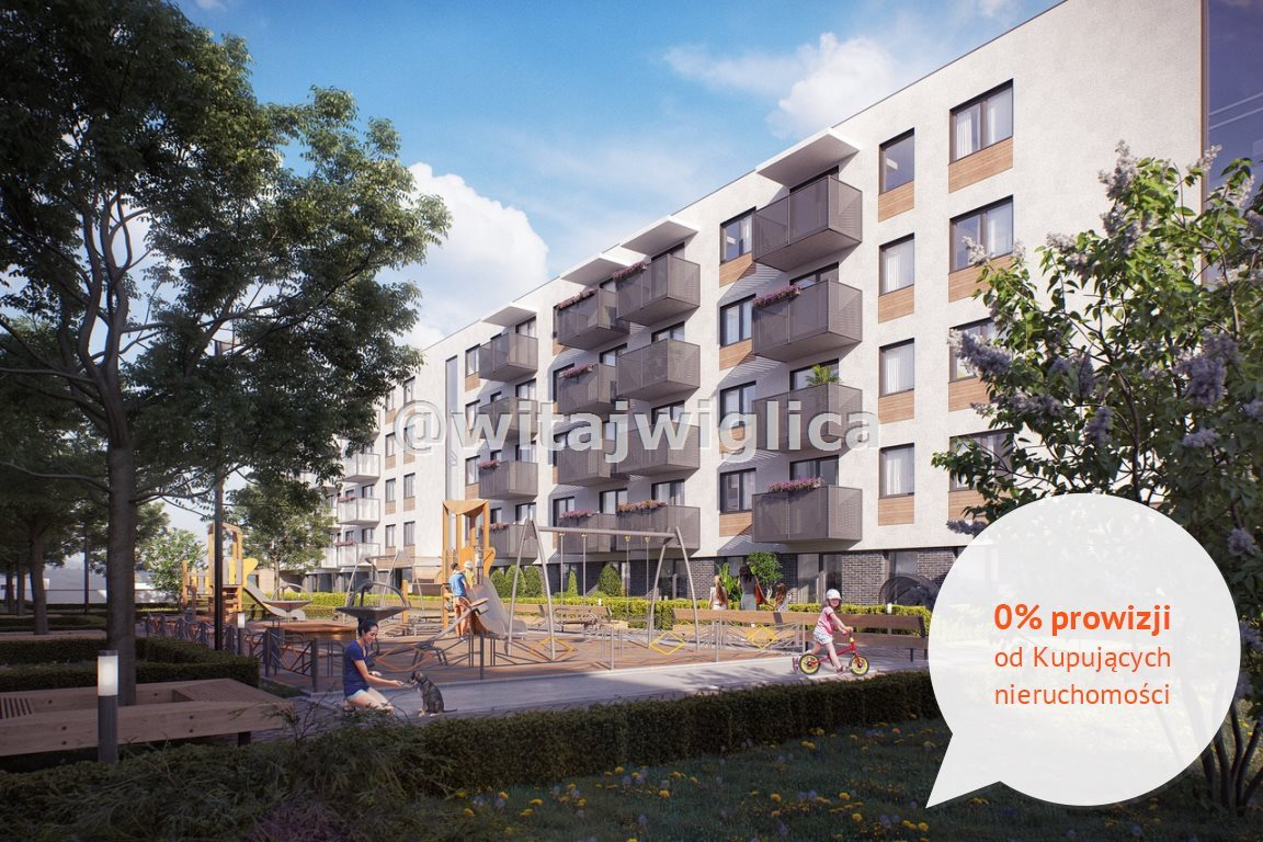 Mieszkanie trzypokojowe na sprzedaż Wrocław, Krzyki, Klecina, Jutrzenki  53m2 Foto 5