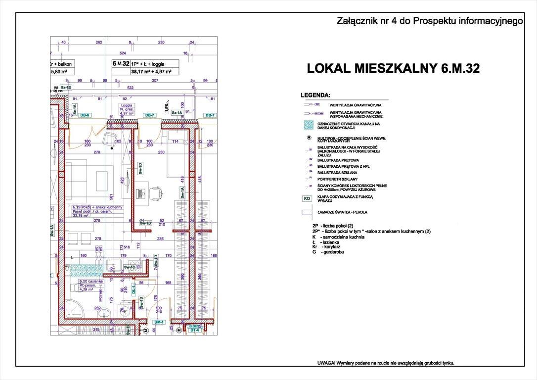 Mieszkanie dwupokojowe na sprzedaż Świnoujście, Bohaterów Września  38m2 Foto 1