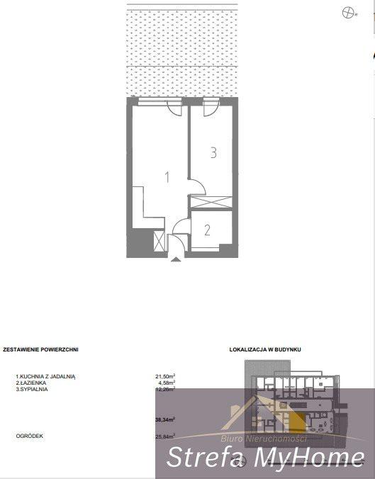 Mieszkanie dwupokojowe na sprzedaż Pobierowo  38m2 Foto 5
