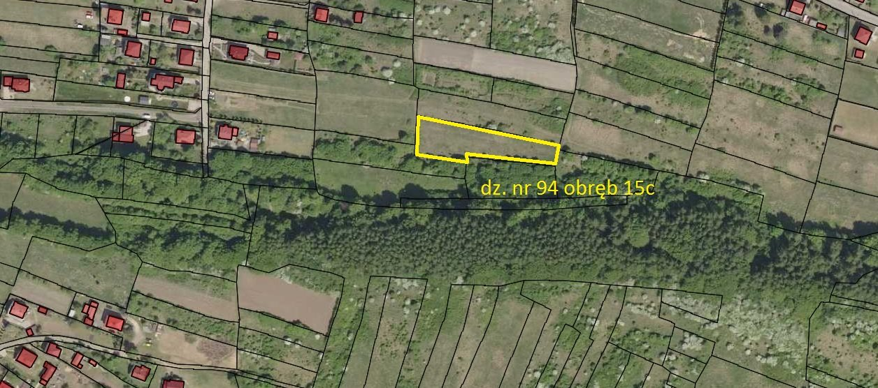 Działka rolna na sprzedaż Jaworzno, Ciężkowice, Kruka  2565m2 Foto 1