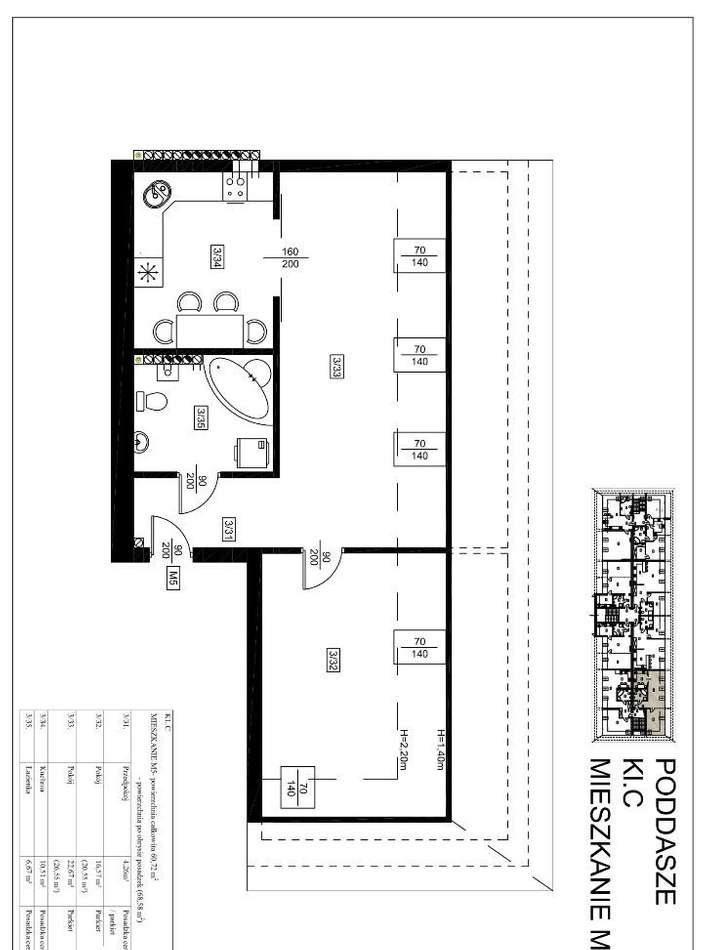 Mieszkanie dwupokojowe na sprzedaż Szprotawa  78m2 Foto 5