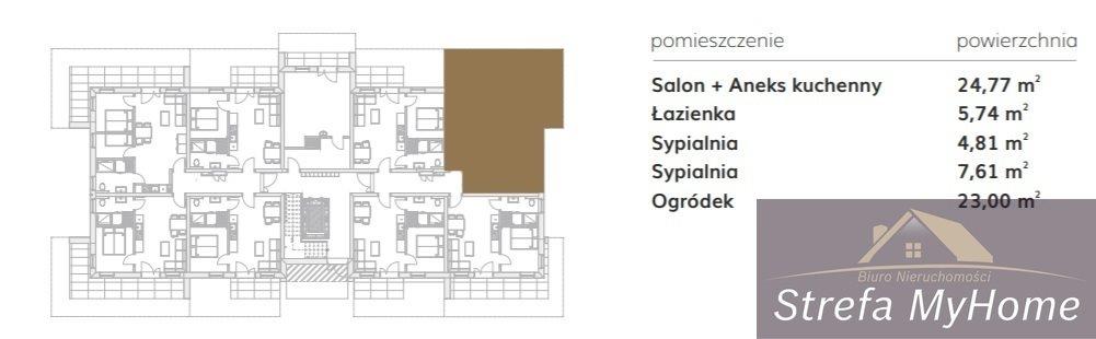 Mieszkanie trzypokojowe na sprzedaż Pobierowo  43m2 Foto 9