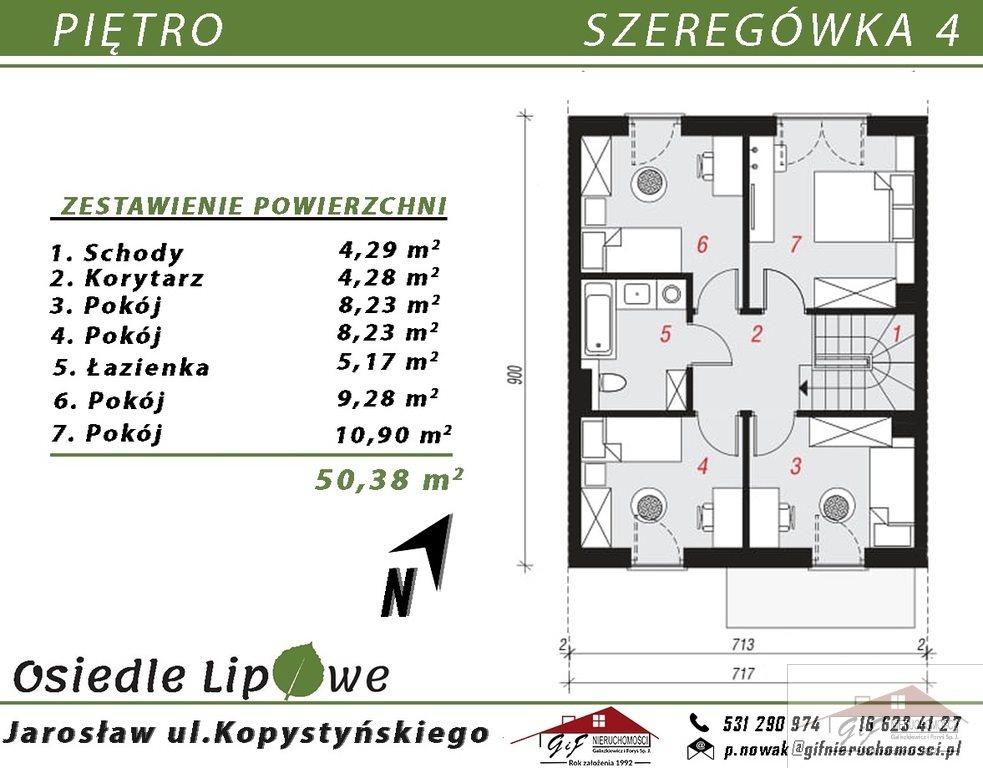 Dom na sprzedaż Jarosław, Stanisława Kopystyńskiego  129m2 Foto 3