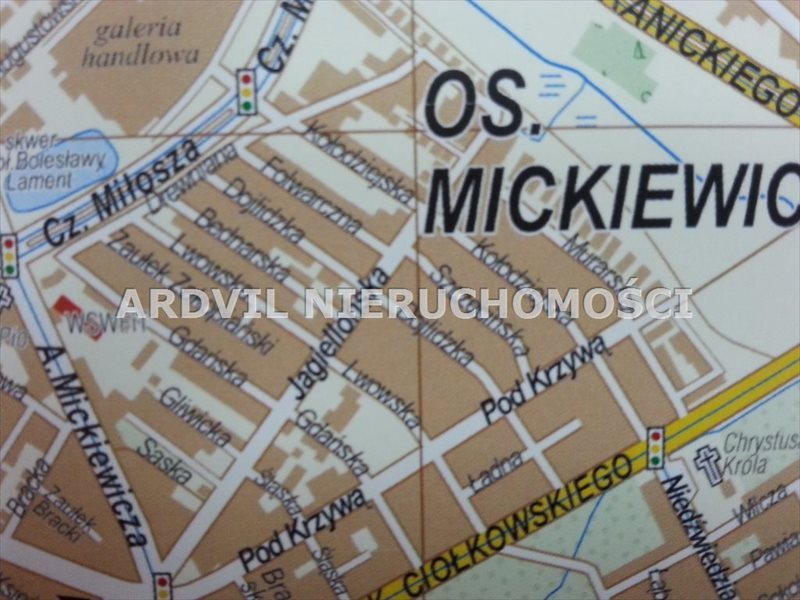 Działka budowlana na sprzedaż Białystok, Mickiewicza  4139m2 Foto 1