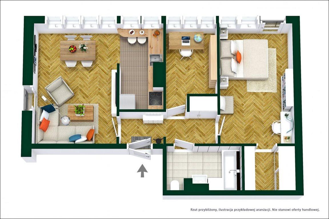 Mieszkanie trzypokojowe na sprzedaż Warszawa, Bielany Marymont, Marymoncka  62m2 Foto 11