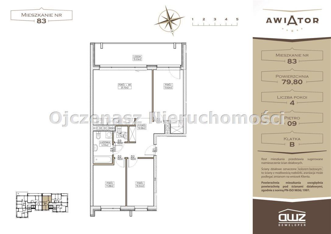 Mieszkanie dwupokojowe na sprzedaż Bydgoszcz, Bartodzieje  80m2 Foto 4