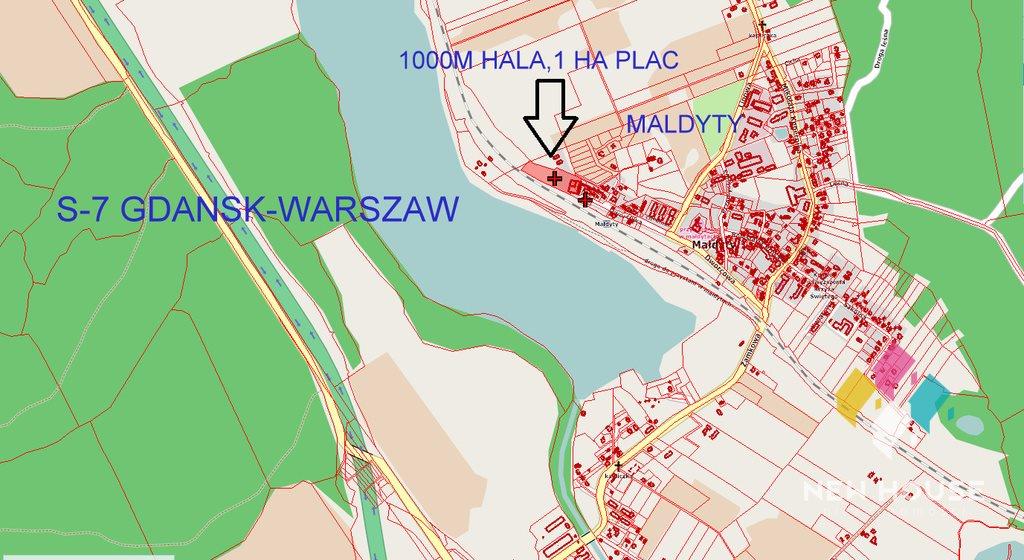 Magazyn na sprzedaż Małdyty, Dworcowa  9553m2 Foto 3